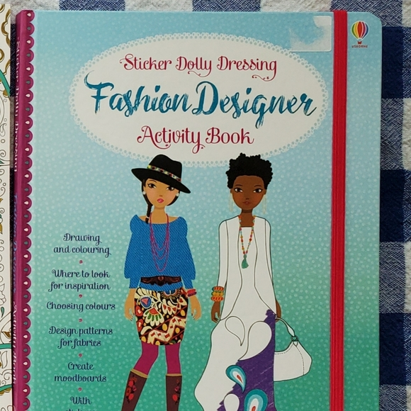 Kids Usborne fashion design